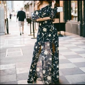 Show me your mumu star and moon dress. SMYM